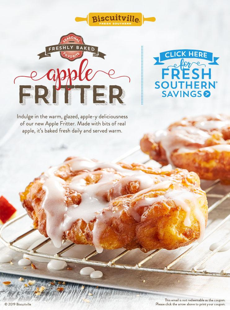 Apple Fritter Biscuitville