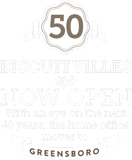 50 Biscuitvilles are Now Open.